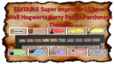 Super Improve-er Wall Wizard Harry Potter Parchment Theme 10 Count Cards