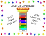 Super Improver Level Up Certificates