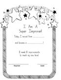Super Improver Parent Note