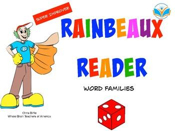 Super Improver Rainbeaux Reader:  Word Families