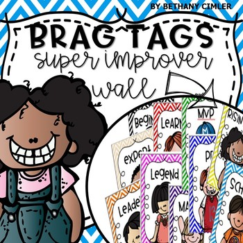 Super Improver Wall Brag Tags