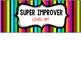 Super Improver Wall Display {Super Hero Edition}