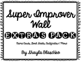 Super Improver Wall Extra Pack- Whole Brain Teaching- FREEBIE!