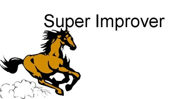 Super Improver Wall - Horse Themed