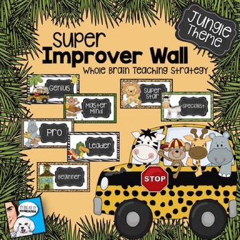 Super Improver Wall Jungle Theme FREE