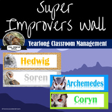 Super Improver Wall- Owl Themed