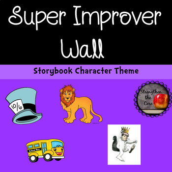 Super Improver Wall Storybook Character Themed