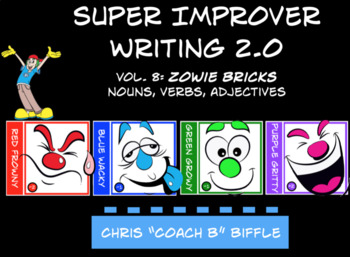 Super Improver Writing 2.0 Vol. 8 Zowie Bricks Nouns, Adjectives, and Verbs