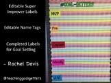 Super Improvers Goal Setting Kit - Editable