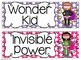 Super Improvers Superhero Themed Wall Set {Whole Brain Teaching}