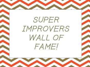 Super Improvers Wall