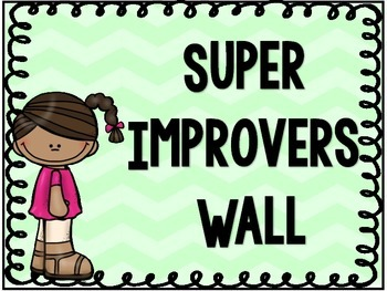 Super Improvers Wall Cards