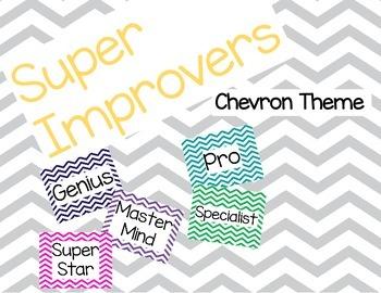 Super Improvers Wall Chevron Theme
