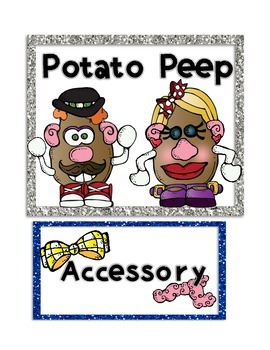 Super Improvers Wall and Class Rules Freebie!!! Potato Head Theme!!