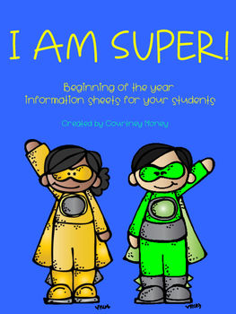 Super Information Sheets for the Beginning of the Year