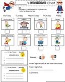 Super Kid Behavior Modification Chart