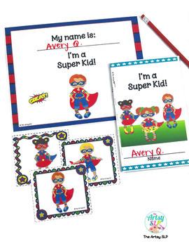 Super Kid Positive Self Esteem Activities
