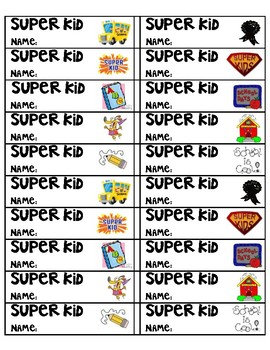 Super Kid Tickets