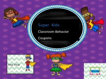 Super Kids Behavior Rewards
