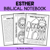 Queen Esther Bible Lessons Notebook