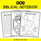 God Interactive Notebook Bible Unit