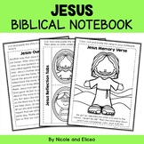 Jesus Bible Lessons Notebook