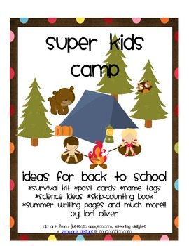 Super Kids Camp:Back to School Ideas/Resources