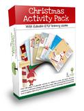 Christmas Activity and Editable Portfolio Pack