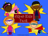 Super Kids Clipart Pack