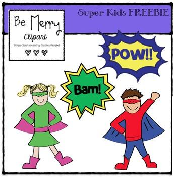 Super Kids FREEBIE