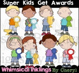 Super Kids Get Awards Clipart Collection