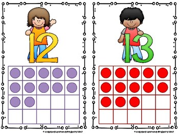 Super Star Kids Number Charts 0 - 20 {Ladybug Learning Projects}