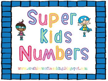 Super Kids Number Order