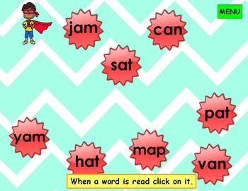 Super Kids Short Vowel PowerPoint Game