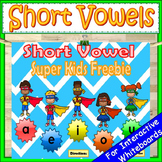 Super Kids Short Vowel PowerPoint Game