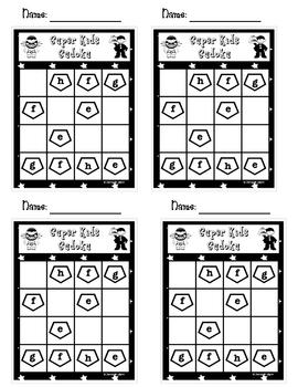 Super Kids Sudoku