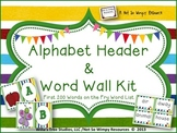 Super Kids Word Wall Kits (First 300 Words on the Fry Word List)