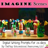 Imaginary Play Writing Prompts Unit Interactive Whiteboard