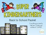 Super Kindergartners: Back to School Pack