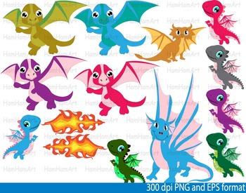 Super Knights and Dragons Clip Art school halloween birthday PRINCESS -103-
