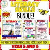 Super Literacy Skills Combo - Literacy Skills Activities a