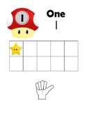 Super M Bros 1-20 Counting Posters