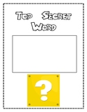 Super M Brothers Classroom Management Posters and Star Student Poster