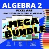 Super Mario Algebra 2 BUNDLE: Math Pixel Art