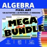 Super Mario Algebra BUNDLE: Math Pixel Art