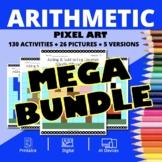 Super Mario Arithmetic BUNDLE: Math Pixel Art