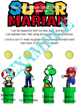 Super Mario Behavior Tracker