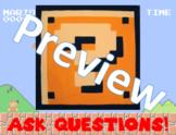Super Mario Bros. Poster - Ask Questions (8.5 x 11)