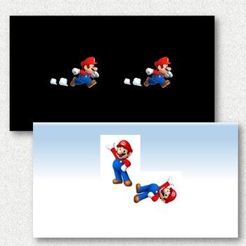 Super Mario Bros. Transformations PowerPoint