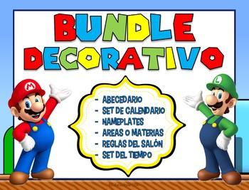 Super Mario Brother - Spanish Decor Kit